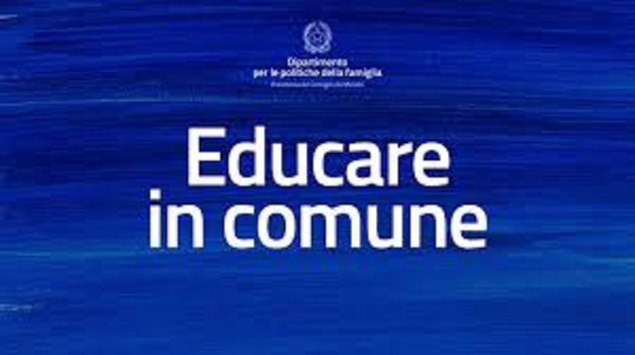 AVVISO PUBBLICO 'EDUCARE IN COMUNE'