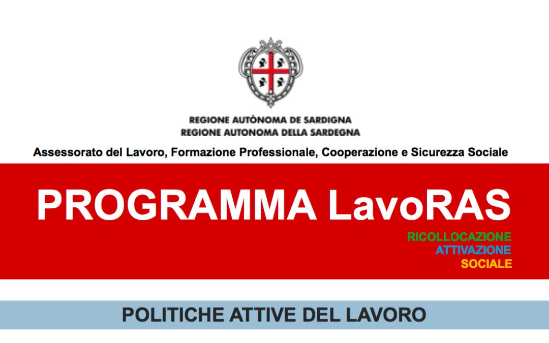PROGRAMMA REGIONALE LavoRas - CORSI GRATUITI PER LA CERTIFICAZIONE DELLE COMPETENZE ACQUISITE.